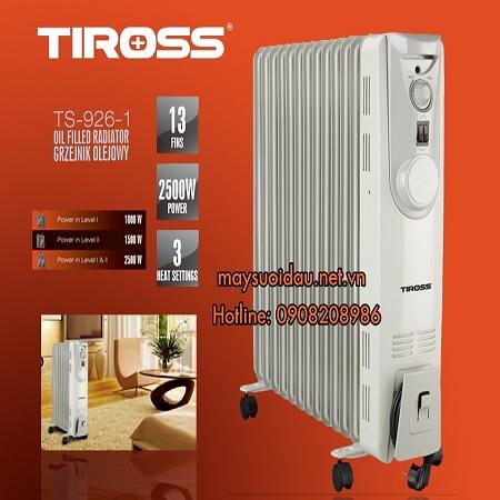 Máy sưởi dầu 13 thanh Tiross TS926-1