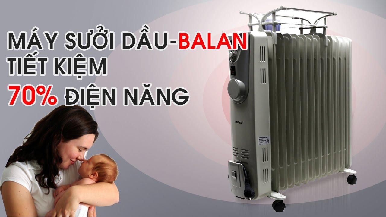Hướng dẫn cách dùng máy sưởi dầu tích kiệm điện