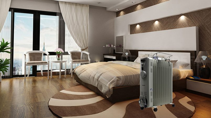 Các thiết bị sưởi dùng cho phòng ngủ phù hợp nhất